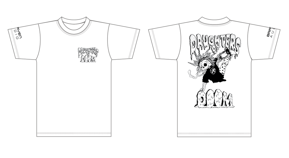 Image of DAUGHTERS OF DOOM TEE