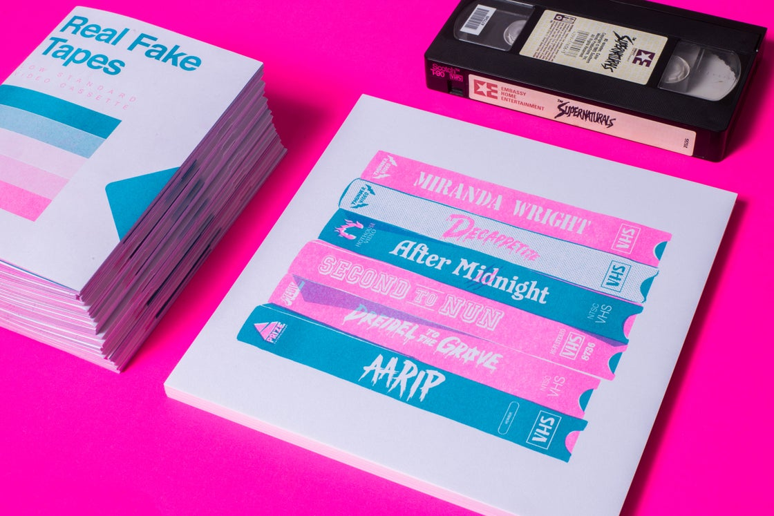 Image of Real Fake Tapes Combo! Zine + Print