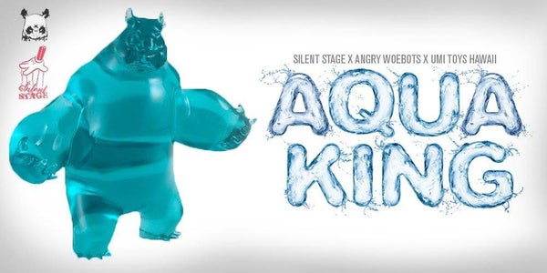 Image of Aqua King Mini Panda King III ʻUmi Toys Hawaiʻi Exclusive Colorway