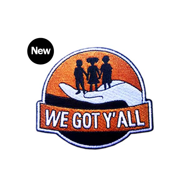 Image of We Got Y'all Iron-On Patch