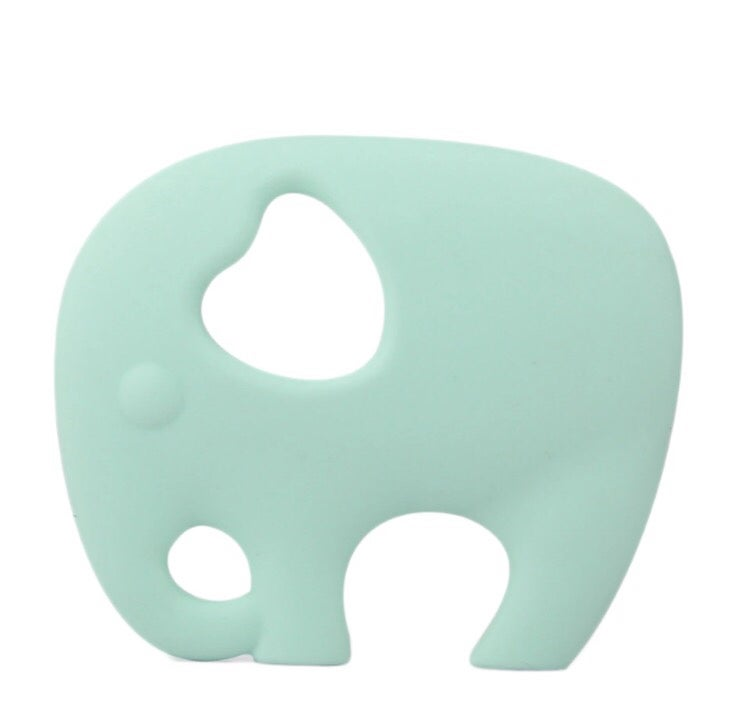 Image of Elephant Teethers - Pink or Mint
