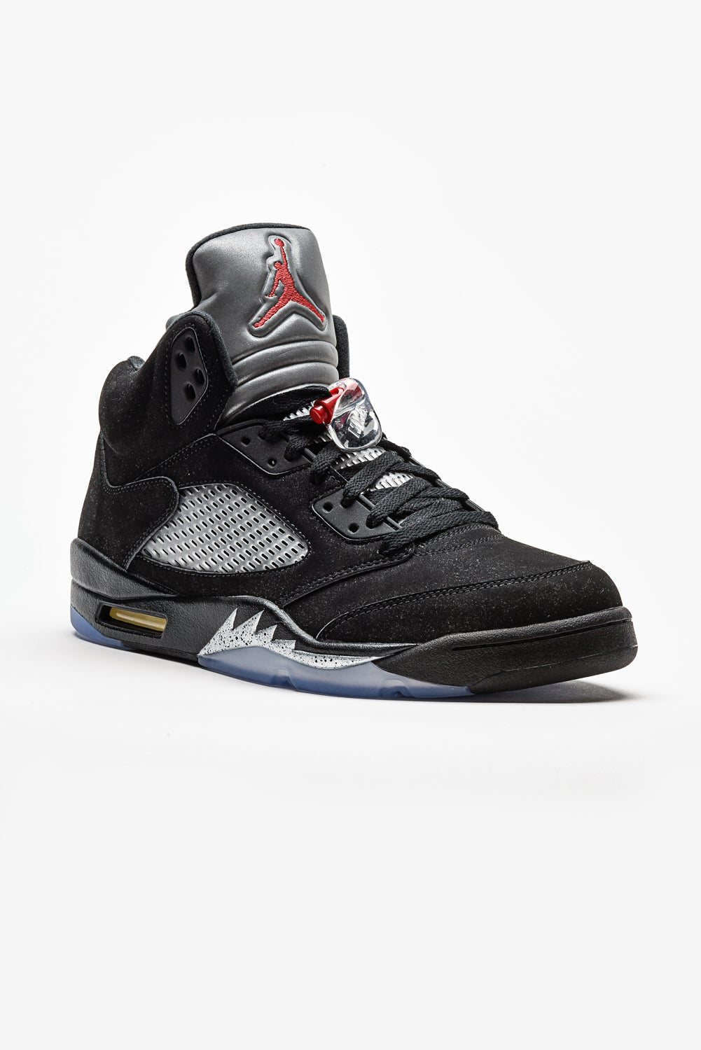 huge discount 3afc9 8d550 Image of Air Jordan 5 Retro - Black Metallic
