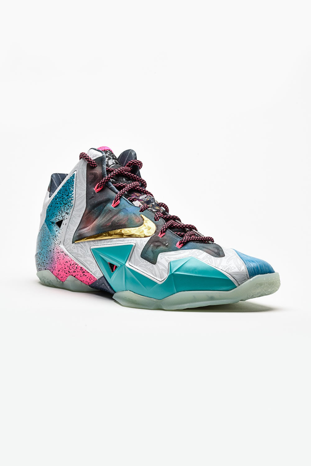 Image of Nike Air Lebron 11 - What the LeBron. Image of Nike Air Lebron 11  - What the LeBron. STYLE  650884-400. COLORWAY  BLACK LAVA SILVER ICE-GALAXY  BLUE ca22bc9af