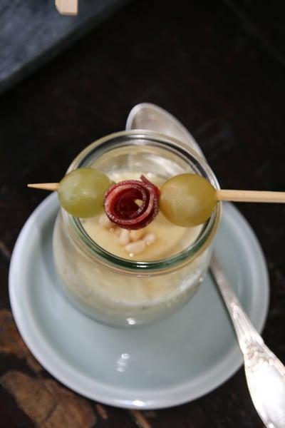 Image of Panacotta au roquefort