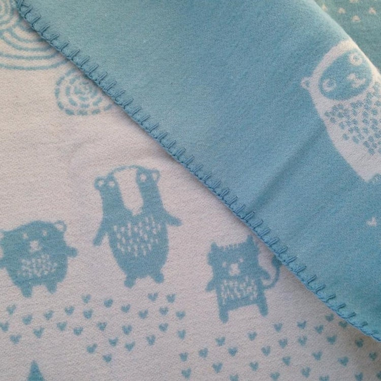 Image of Organic Cotton Klippan Blanket