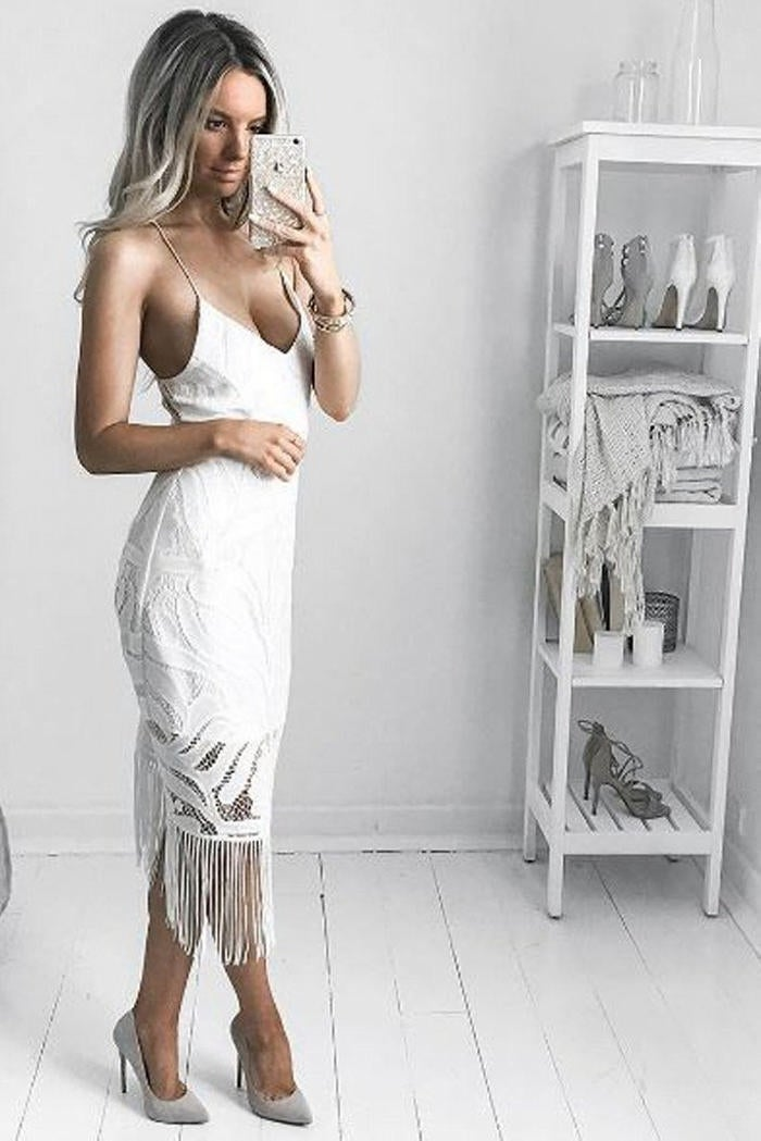 Image of Laurianne Dress White