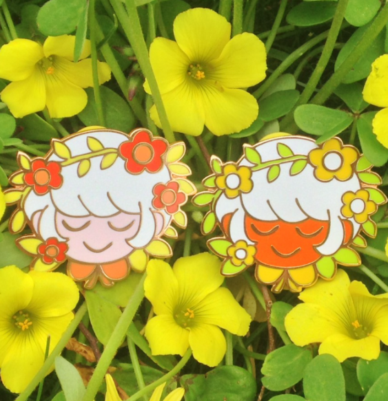 Image of Blossom Enamel Pin!