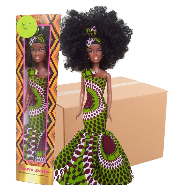 Image of Box of 20 Nana Yaa Dolls