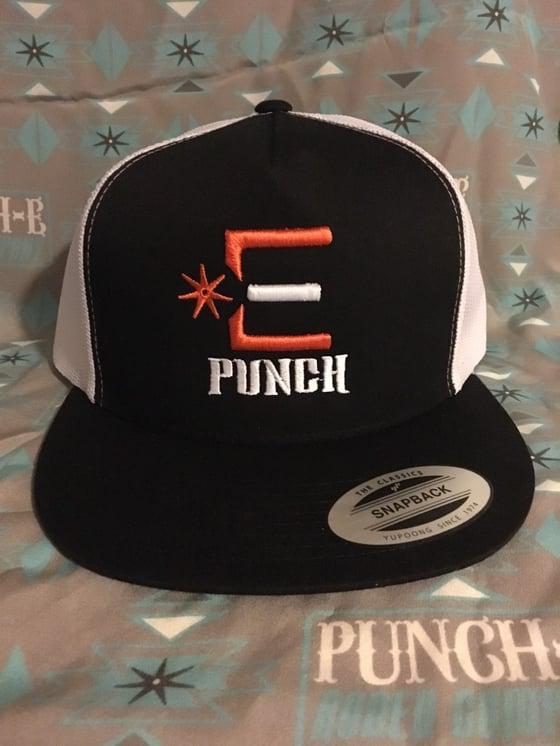 Image of Punch-E logo orange