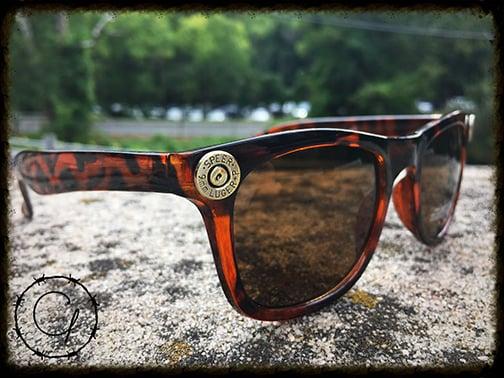 Image of Speer 9mm Tortoise Style Unisex Sunglasses