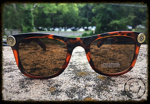 Image of Speer 9mm Tortoise Style Unisex Sunglasses