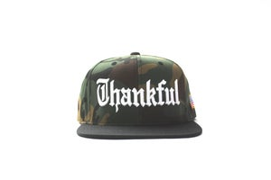 Image of OLD ENGLISH THANKFUL (2 TONE CAMOFLAUGE)