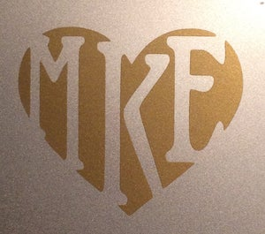 Image of Love MKE Decal