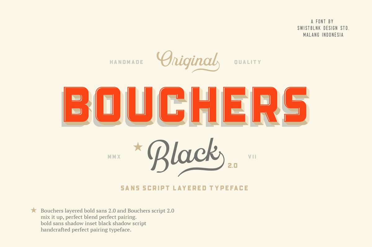 Image of Bouchers Sans Script 2.0