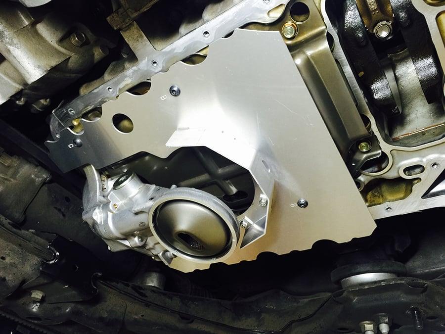 Image of Ballade Sports Honda S2000 Bolt In Oil Pan Baffle 00-09
