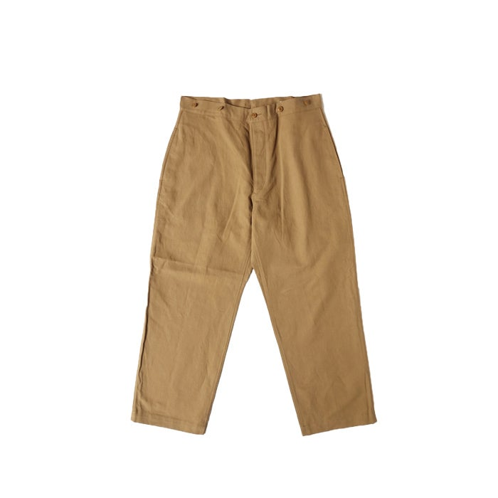 Image of COMOLI - Cotton Linen Wide Pant