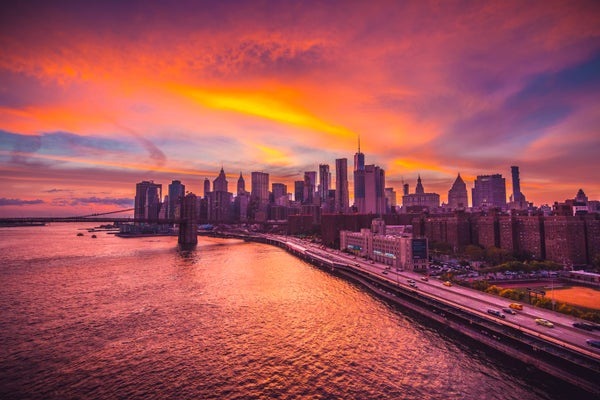 Image of Manhattan Sunset