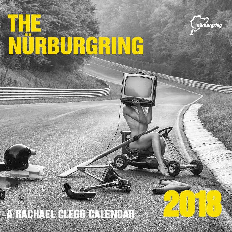 Image of Rachael Clegg's 2018 Nürburgring calendar