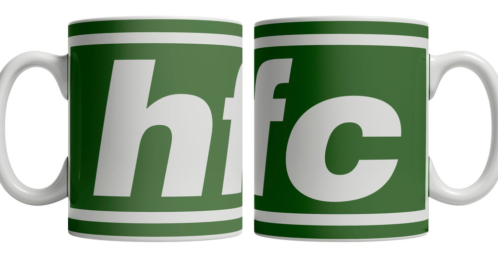 Image of Hibs, Hibernian, HFC, Brand New Football Mug. Unofficial.