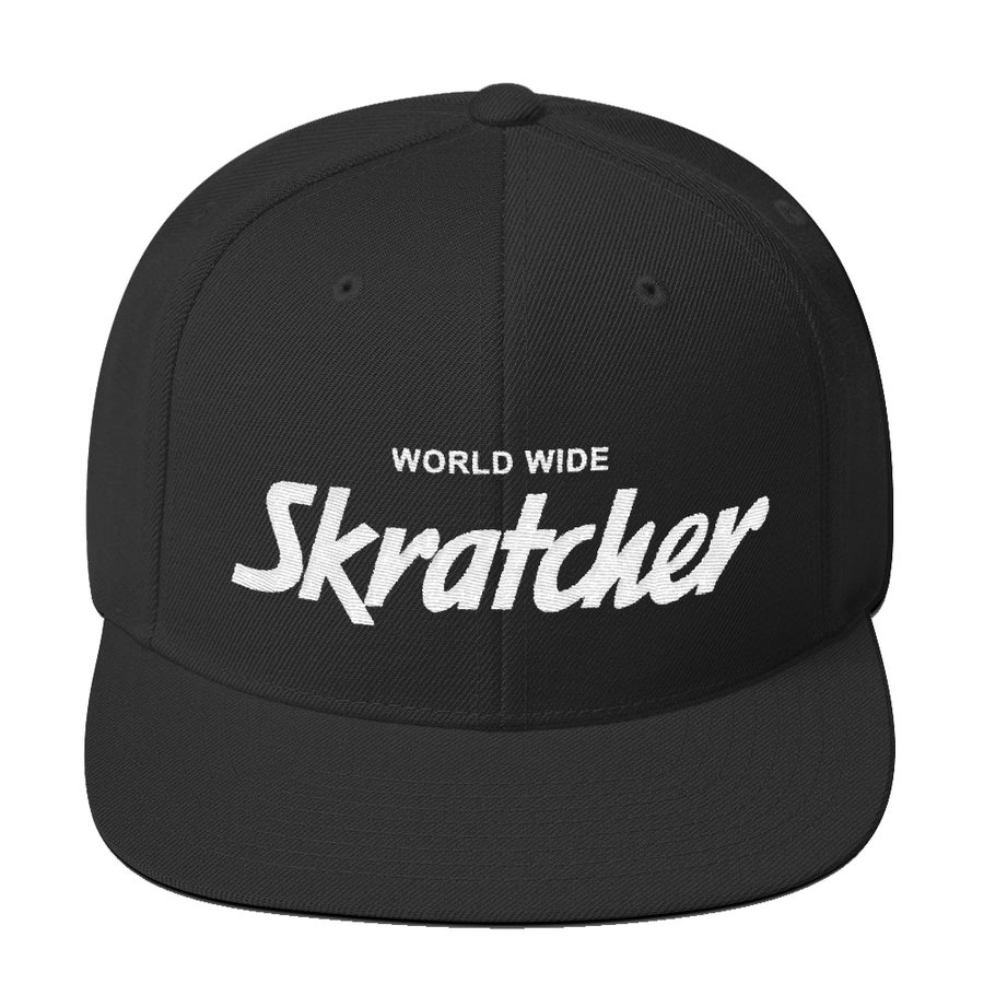 Image of WORLD WIDE SNAP BACK - SKRATCHER
