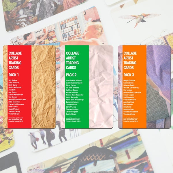 Image of Collage Artist Trading Cards Packs 1-3