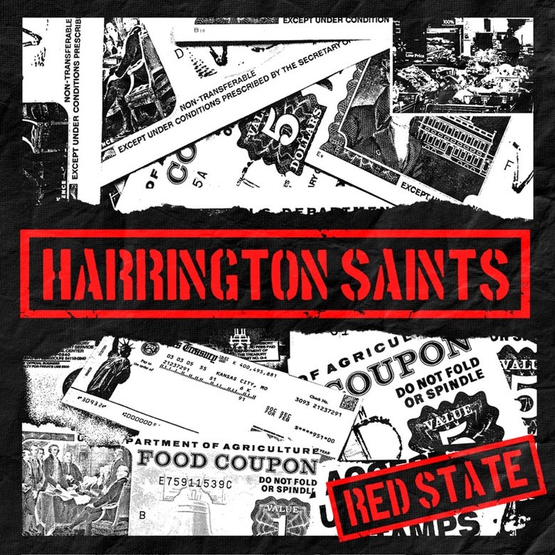 Image of Harrington Saints Red State 7""