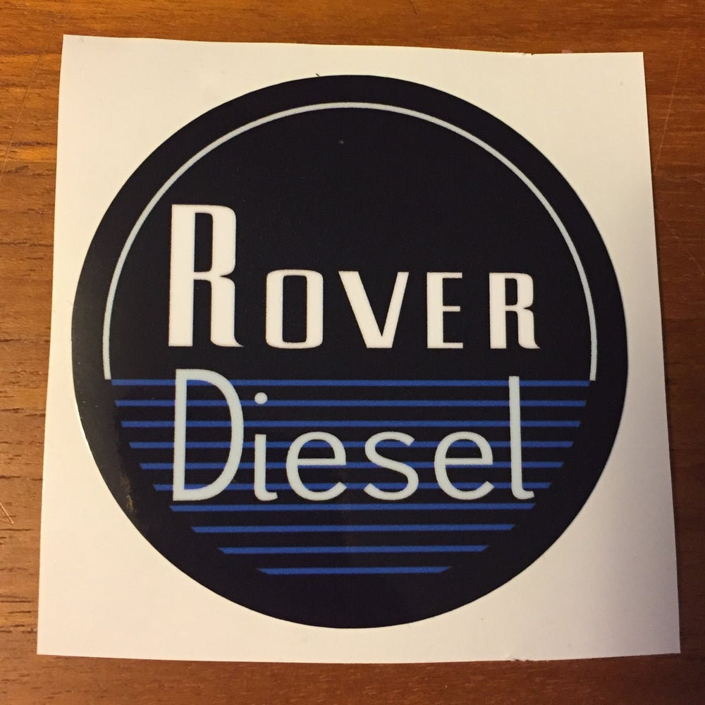 Image of Rover Diesel Decal