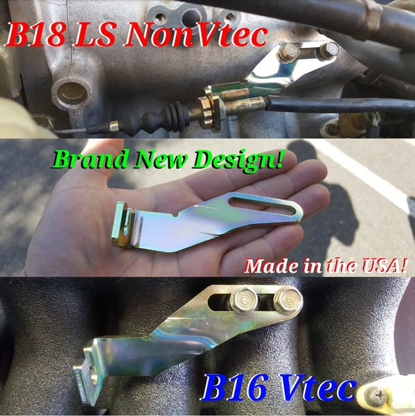 Image of Brand New Throttle Cable Bracket B16 & B18 NonVtec