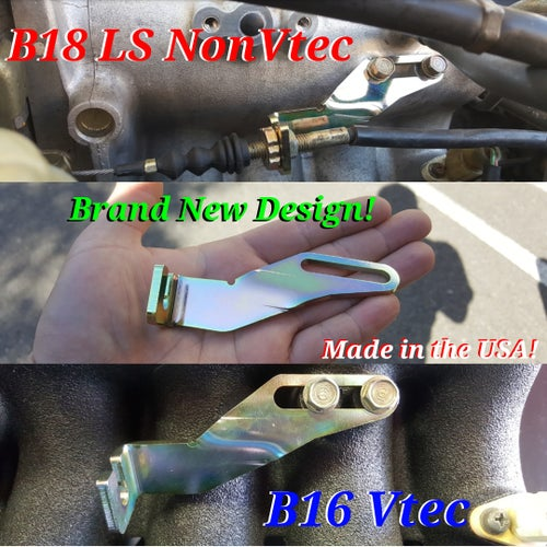Image of Brand New Throttle Cable Bracket B16 & B18 / LS NonVtec