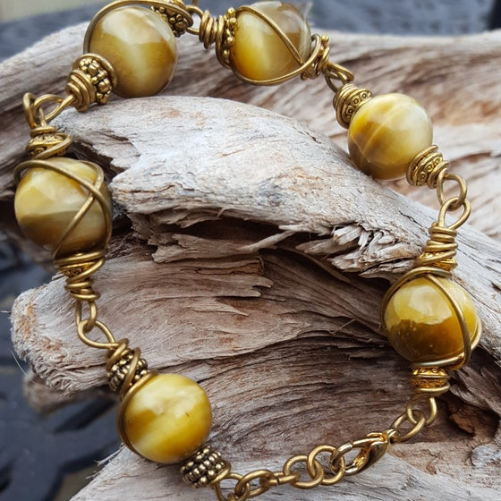 Image of Honey tigers eye bracelet