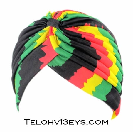 Image of Unisex Stretchy Rasta Turban