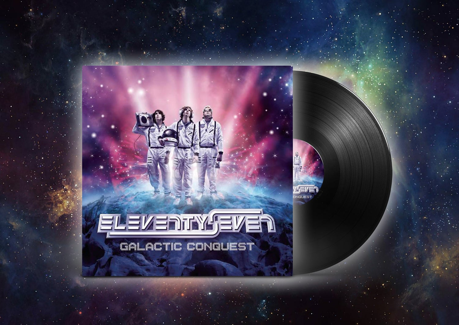 Image of Galactic Conquest Limited Vinyl