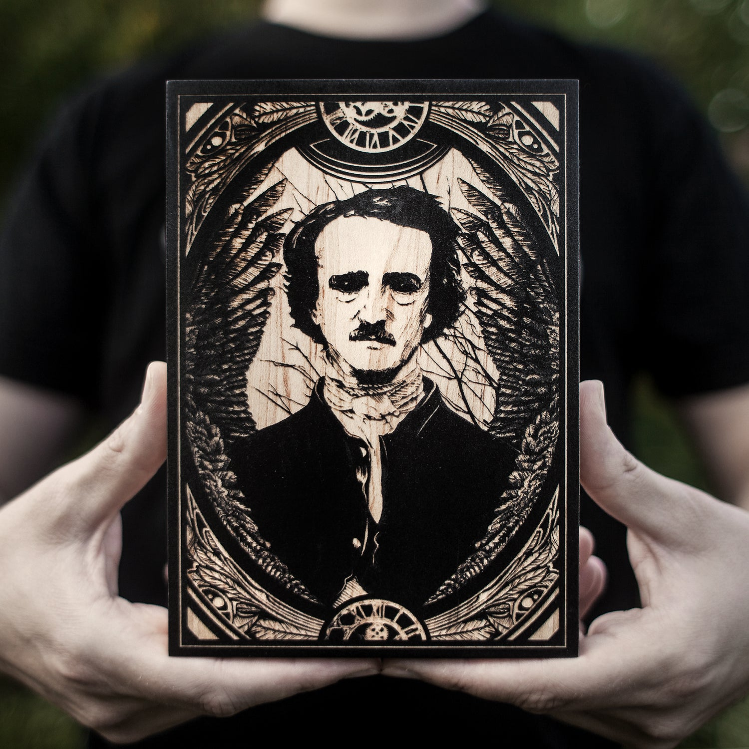 Image of Edgar Allan Poe mini