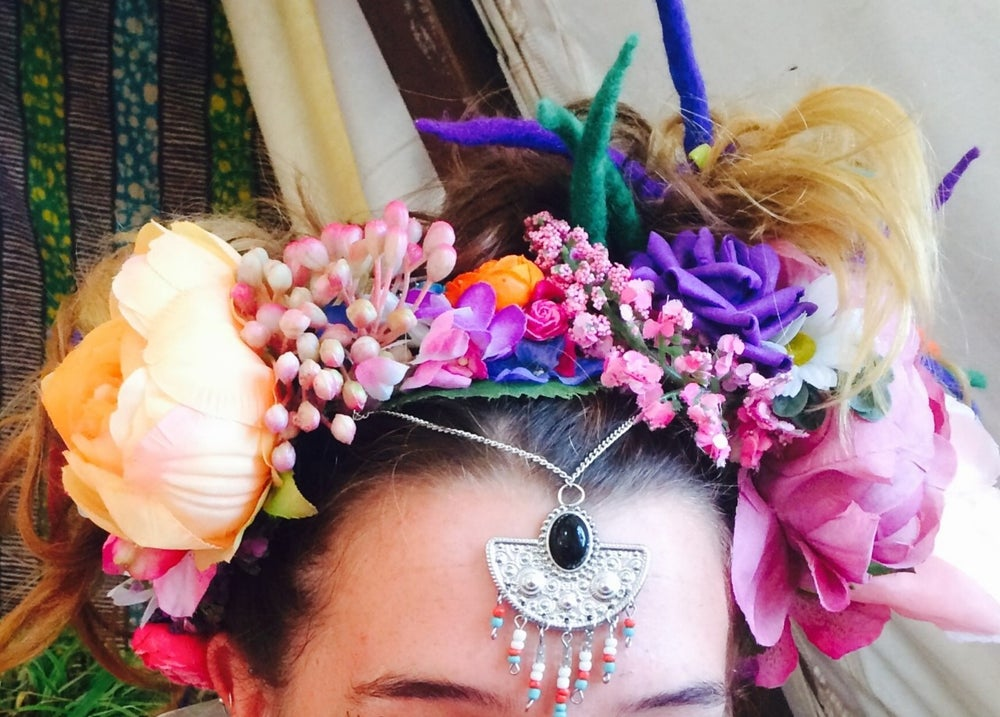Image of Frida Wildflower Crown