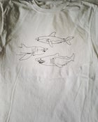 Image of 3 sharks shirt