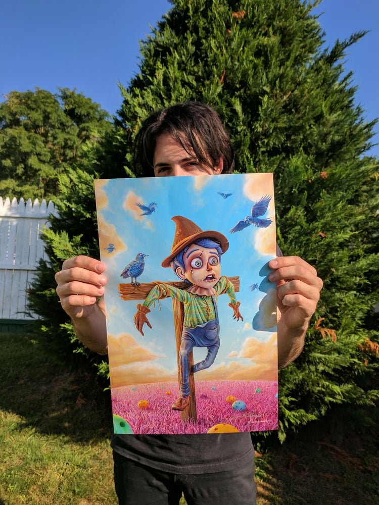 "Image of The Scarecrow - 11"" X 17"" Poster - Signed"
