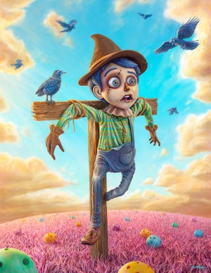"Image of The Scarecrow - 11"" X 17"" Poster - Signed - PRE ORDER"