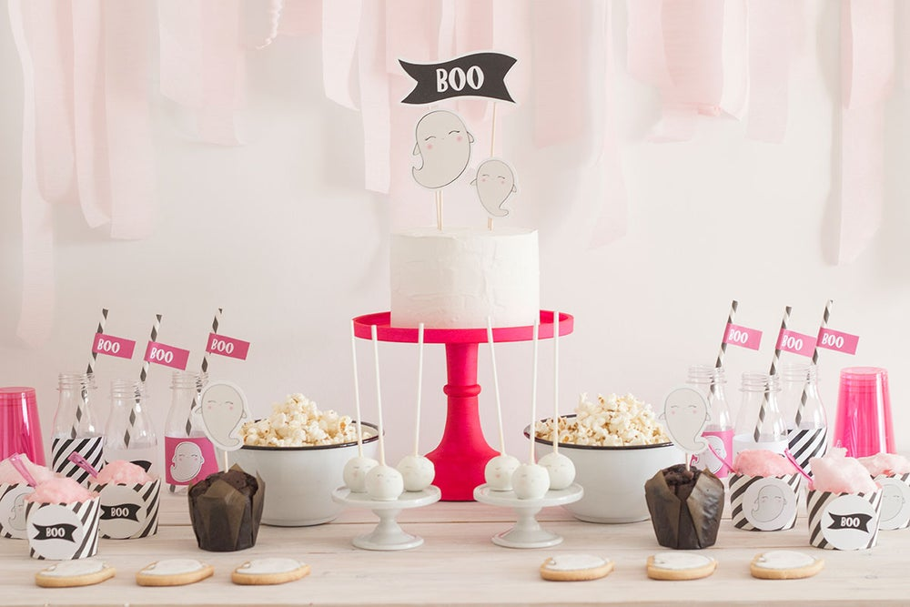 Image of Pack imprimible Boo party