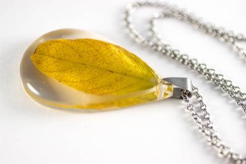 Image of Autumn Leaf Pendant - Smallish #6