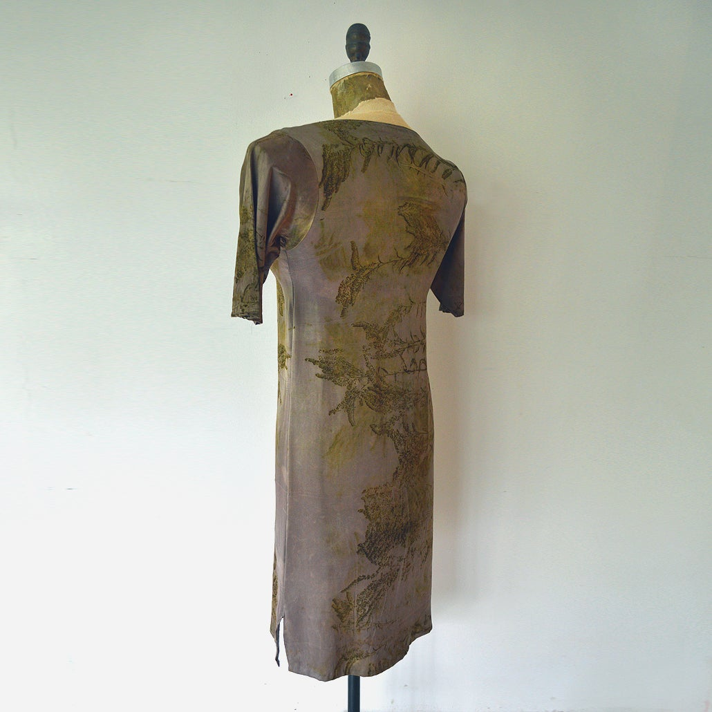 Image of Dusky steel second skin dress