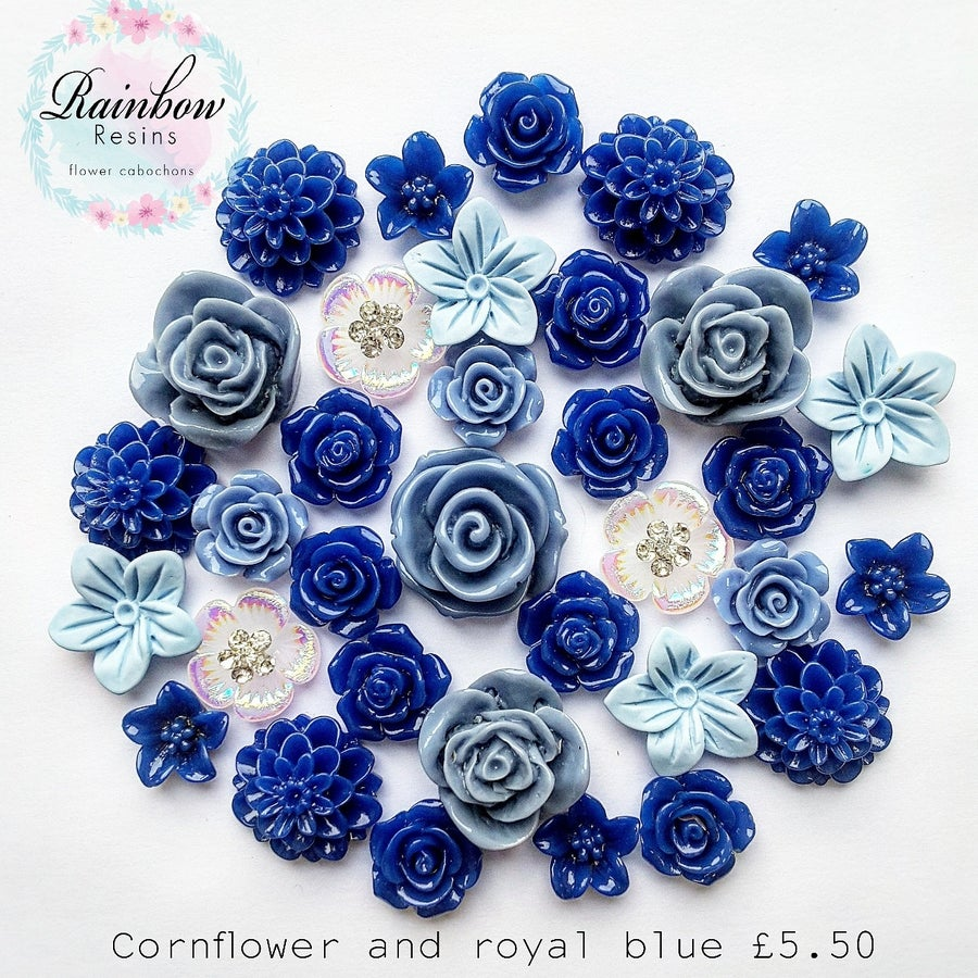 Image of Cornflower and royal blue