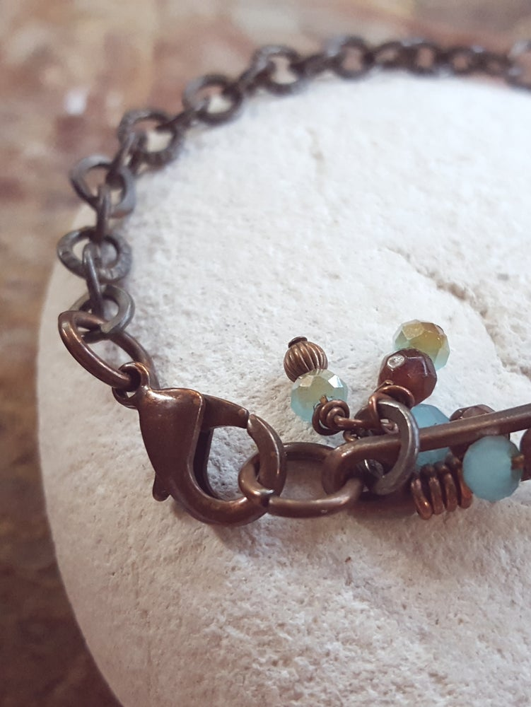 Image of Copper Wired Bracelet