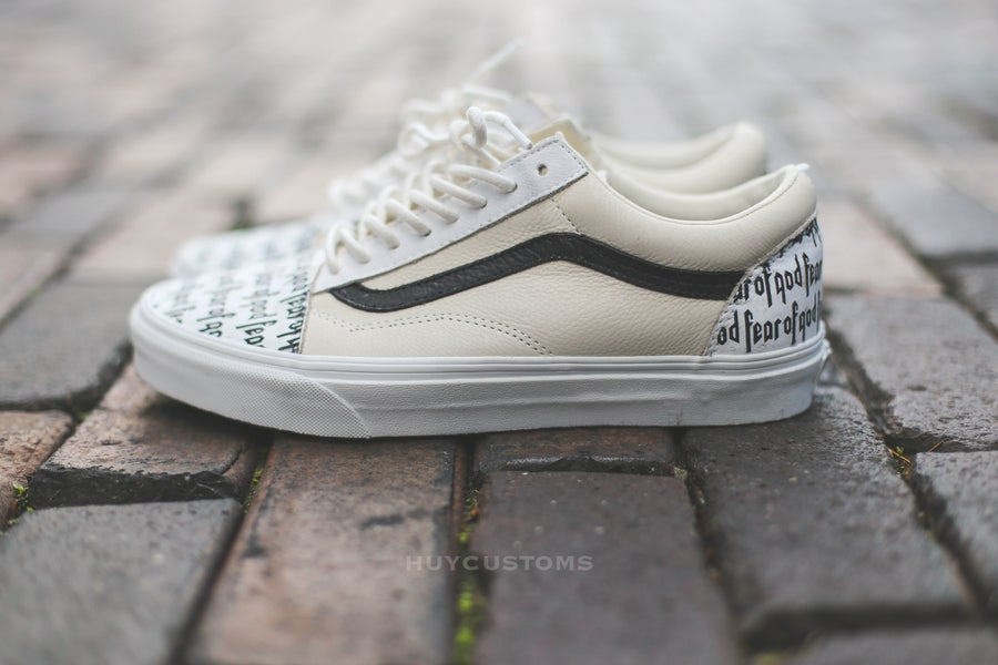 "Image of Vans old skool ""FOG"" custom"