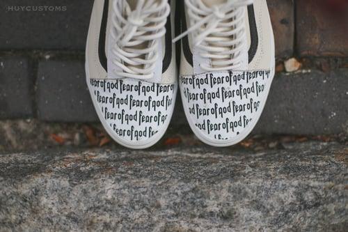 """Image of Vans old skool """"FOG"""" custom"""