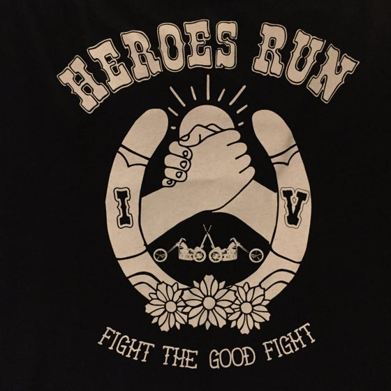 Image of Heroes Run IV shirt