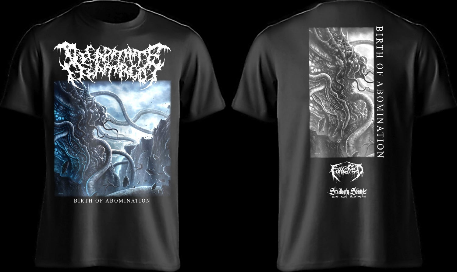 Image of DECAPITATE HATRED - Birth of Abomination SS