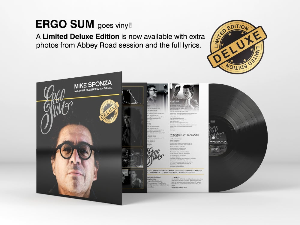 Image of Mike Sponza - Ergo Sum - VINYL - Limited Edition DELUXE
