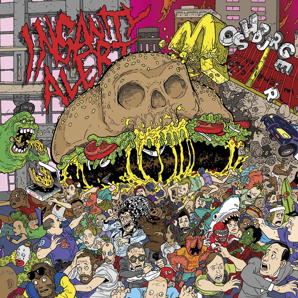 Image of Insanity Alert - Moshburger LP