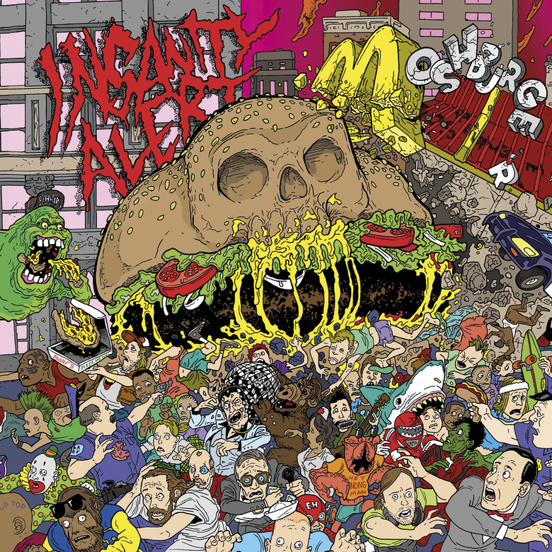 Image of Insanity Alert - Moshburger LP