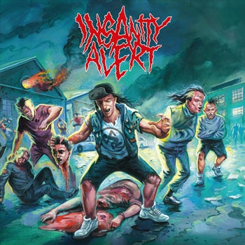 Image of Insanity Alert - S/T LP (Opaque light blue vinyl, limited to 200!)